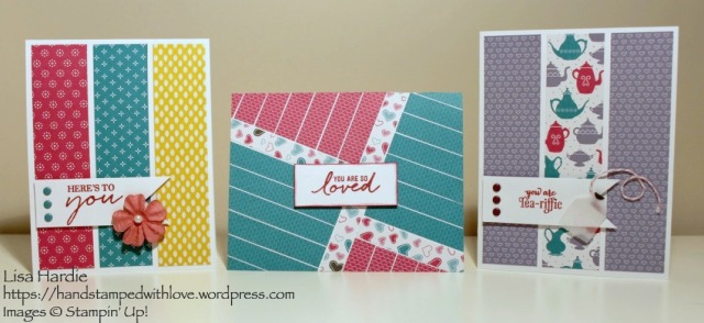 Nice Cuppa Designer Paper Cards