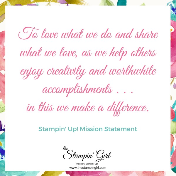 Stampin' Up Mission
