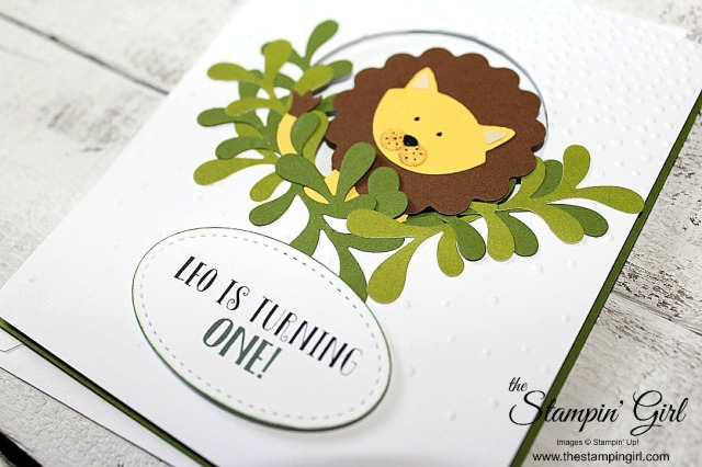 Leo Lion 2 - Stampin' Girl