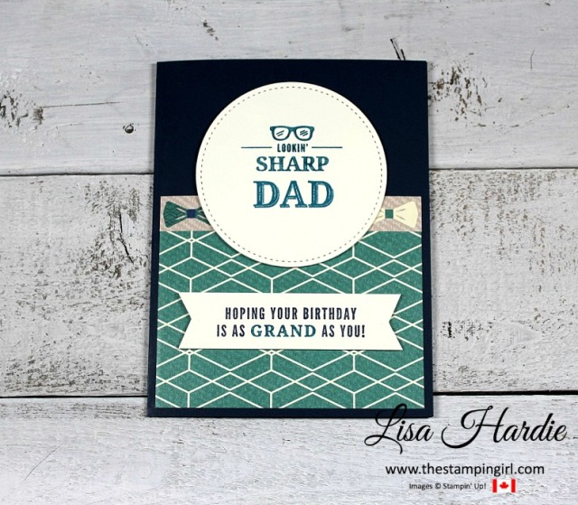 Lookin' Sharp Dad Birthday Card - GSP Blog - JAN2018