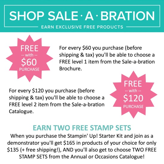 Sale-a-Bration 2018 Graphic