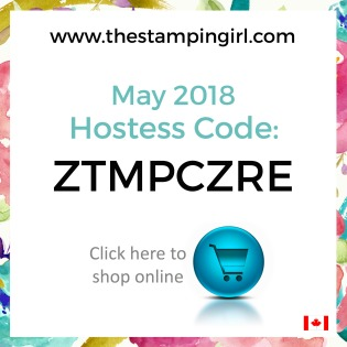 May 2018 Hostess Code